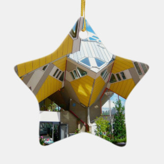 Rotterdam, the Cube Christmas Ornament