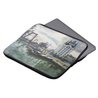Rotterdam Witte Huis White House Painting Laptop Sleeves