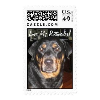 Rotti Love! Postage Stamp