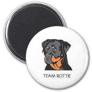 ROTTIE3, TEAM ROTTIE 2 INCH ROUND MAGNET