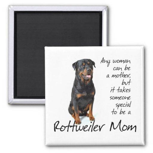 Rottie Mom Magnet Magnet