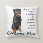 Rottie Mom Pillow Pillow