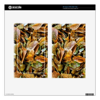 Rotting leaves kindle fire decals