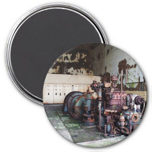 Rotting Machine 3 Inch Round Magnet