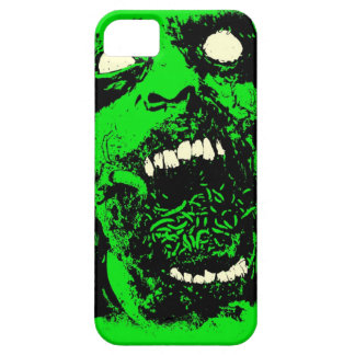 Rotting Zombie Face iPhone 5 Covers