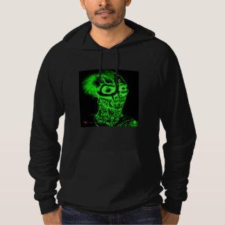 Rotting Zombie Necro Green Fleece Hoodie