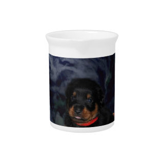 rottpupinearth hand beverage pitcher