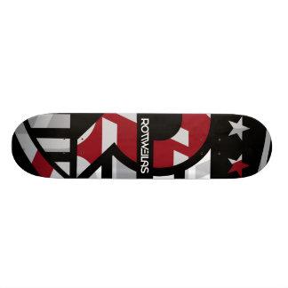 Rottweilas - Black/Red Skateboard