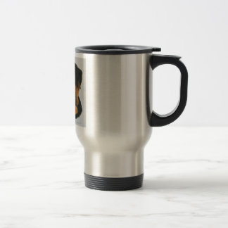 Rottweiler 15 Oz Stainless Steel Travel Mug