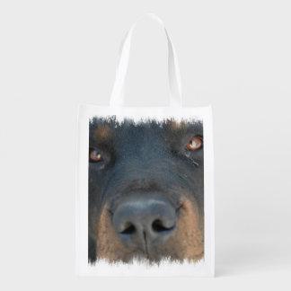 rottweiler-1.jpg reusable grocery bag