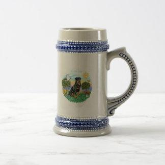 Rottweiler (#1) taza de café