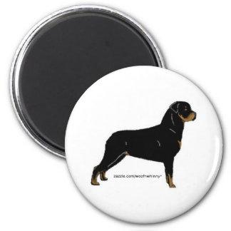 Rottweiler 2 Inch Round Magnet