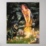 Rottweiler (#3) - Mid Eve Print