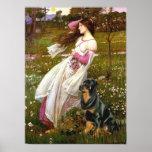 Rottweiler (#5) - Windflowers Posters