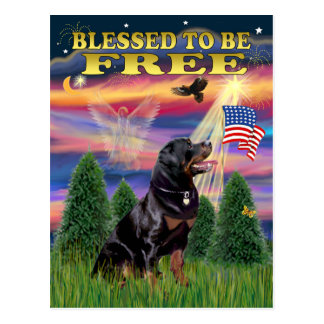 Rottweiler #6 postcard