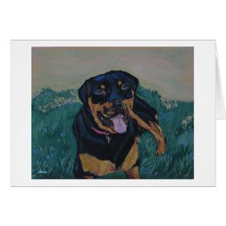 Rottweiler 7 notecard