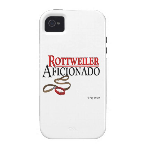 Rottweiler Aficionado Case-Mate iPhone 4 Cases