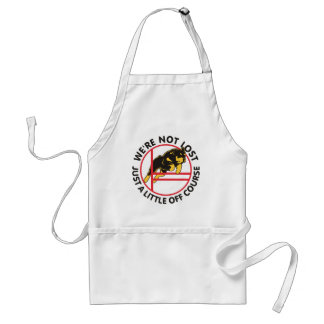 Rottweiler Agility Off Course Adult Apron