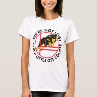 Rottweiler Agility Off Course T-Shirt