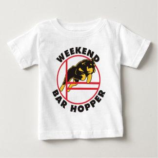 Rottweiler Agility Weekend Bar Hopper Shirt