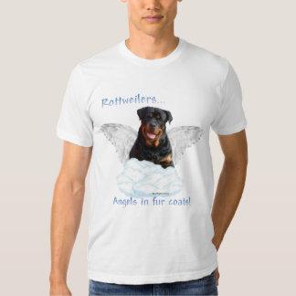 Rottweiler Angel Tee Shirt