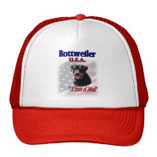 Rottweiler Art Gifts Trucker Hat