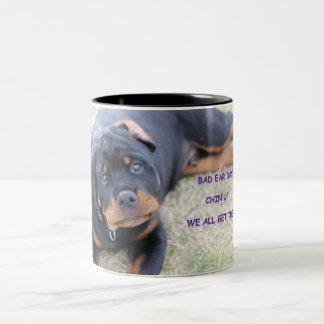 Rottweiler Bad Ear Day Mug