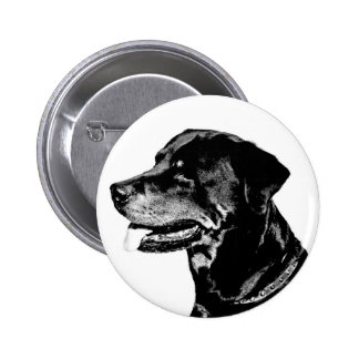 Rottweiler badge button