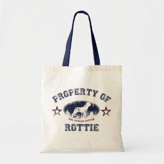 Rottweiler Canvas Bag