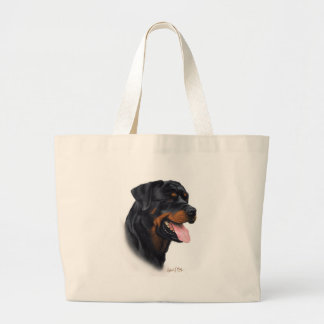 Rottweiler Bolsa Tela Grande