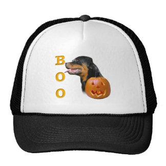 Rottweiler Boo Trucker Hats