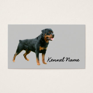 Rottweiler Breeder Business Card