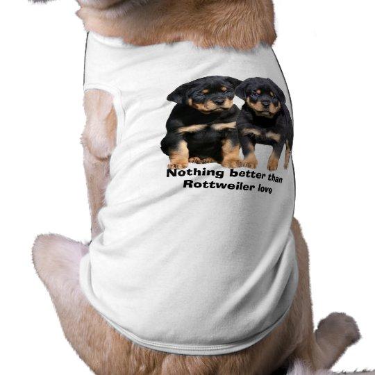 Rottweiler Buddies Pet Clothing
