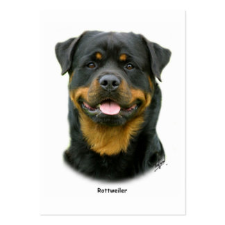 Rottweiler Large Business Cards (Pack Of 100)
