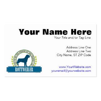 Rottweiler Business Card Templates