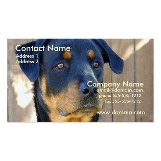 Rottweiler Business Card