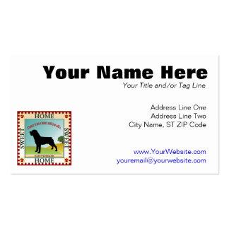 Rottweiler Business Cards