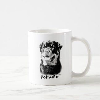 Rottweiler Charcoal Coffee Mug