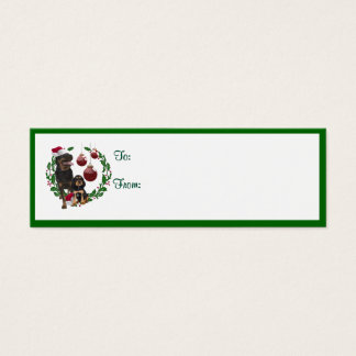 Rottweiler Christmas Wishes Gift Tags