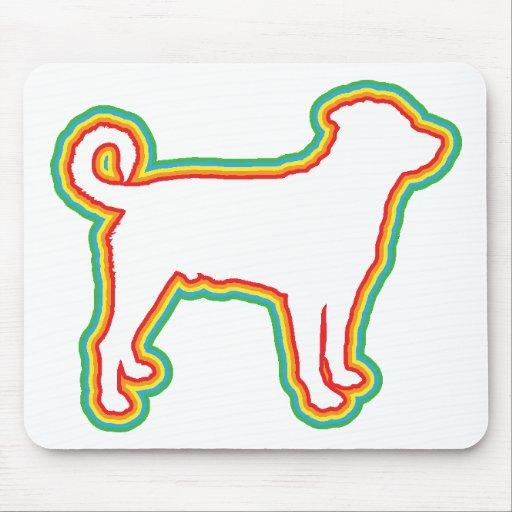 Rottweiler (cola descolada) alfombrilla de ratones