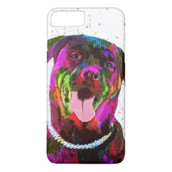 Case-Mate Tough iPhone 7 Plus Case with Rottweiler Phone Cases design