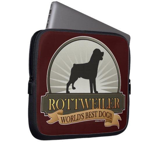 Rottweiler Computer Sleeve