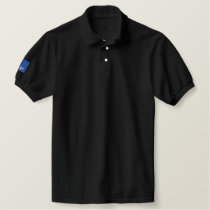 Rottweiler - Customized - Customized Embroidered Polo Shirt