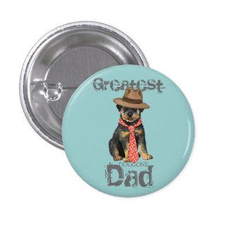 Rottweiler Dad Button