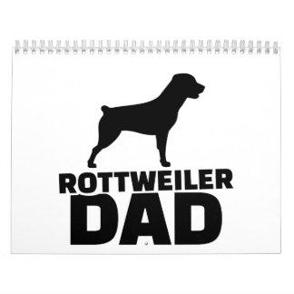 Rottweiler Dad Calendar