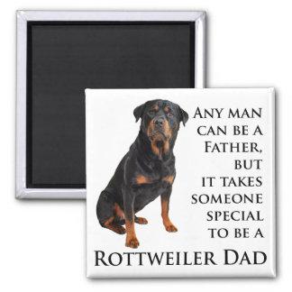 Rottweiler Dad Magnet Fridge Magnets