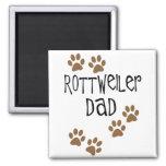 Rottweiler Dad Refrigerator Magnets
