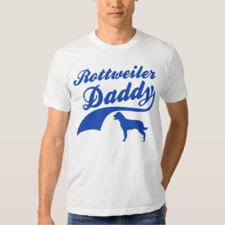 rottweiler daddy shirt