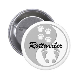 rottweiler de yang del yin pin