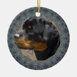 Rottweiler Adornos De Navidad